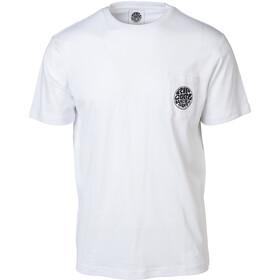 Rip Curl Original Wetty T-shirt avec poche de poitrine Homme, optical white